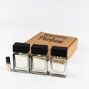 Konsantre Parfüm - 3 TANE 50 ML SPREYLI EXTRAIT DE PARFUM FORMATINDA