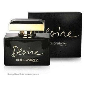 Dolce Gabbana - THE ONE DESIRE