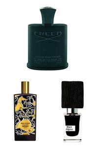 Konsantre Parfüm - Memo Paris - Nasomatto - Creed Erkek Parfüm Seti