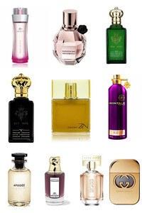 Konsantre Parfüm - Bayan Takım - C.Christian - Lacoste - L.Vuitton - Gucci - Montale - Viktor Rolf - C.Christian - Penhaligons - Hugo Boss - Shiseido