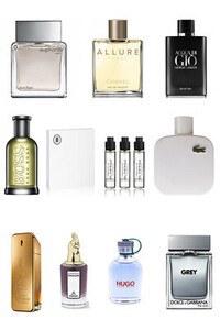 Konsantre Parfüm - Erkek Set - Amouage - Versace - Amouage - By Kilian - HFC - Chanel - Viktor Rolf - G.Armani - Ex Nihilo - D&G