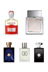 Konsantre Parfüm - Erkek Set - C.Klein - Amouage - Versace - Creed - G.Armani
