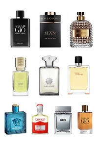 Konsantre Parfüm - Erkek Set - Lacoste - Penhaligons - By Kilian - HFC - Penhaligons - Bvlgari - Bvlgari - G.Armani - Jo Malone - Nasomatto