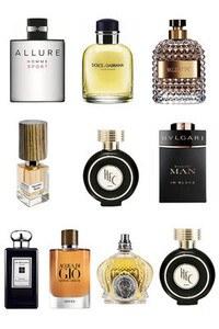 Konsantre Parfüm - Erkek Set - Nasomatto - D&G - Shaik - HFC - HFC - Bvlgari - Valentino - G.Armani - Chanel - Jo Malone