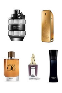 Konsantre Parfüm - Erkek Set - Viktor Rolf - P.Rabanne - G.Armani - Penhaligons - G.Armani