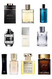 Konsantre Parfüm - Erkek Set - Chanel - Lacoste - C.Dior - Hugo Boss - D&G - Tom Ford - E.Armani - C.Christian - Chanel - P.Rabanne