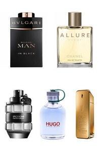 Konsantre Parfüm - Erkek Set - Chanel - Viktor Rolf - P.Rabanne - Bvlgari - Hugo Boss