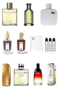 Konsantre Parfüm - Erkek Set - Ex Nihilo - Bvlgari - D&G - Issey Miyake - Lacoste - Davidoff - Roja - Chanel - Viktor Rolf - G.Armani
