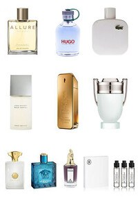Konsantre Parfüm - Erkek Set - P.Rabanne - G.Armani - C.Dior - Chanel - Viktor Rolf - G.Armani - D&G - Versace - Amouage - D&G
