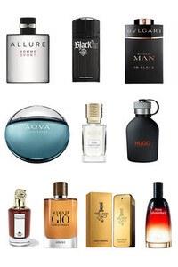 Konsantre Parfüm - Erkek Set - P.Rabanne - Hugo Boss - P.Rabanne - Bvlgari - G.Armani - Bvlgari - Penhaligons - C.Dior - Chanel - Ex Nihilo