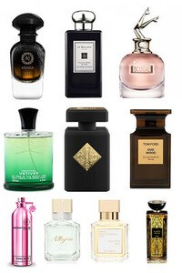 Konsantre Parfüm - Unisex Set - Lalique - AJ Arabia - Initio - Tom Ford - Maison FK - Montale - Creed - Jo Malone - Maison FK - J.Paul