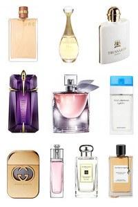 Konsantre Parfüm - Bayan Set - C.Dior - V.Cleef & Arpels - Gucci - T.Mugler - Lancome - Jo Malone - Chanel - Trussardi - D&G - C.Dior