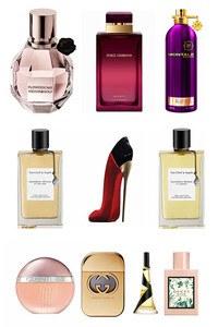 Konsantre Parfüm - Bayan Set - Cerruti - C.Herrera - V.Cleef & Arpels - Gucci - V.Cleef & Arpels - D&G - Montale - Viktor Rolf - Gucci - Rihanna