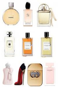 Konsantre Parfüm - Bayan Set - V.Cleef & Arpels - Marly - Chanel - V.Cleef & Arpels - Jo Malone - Narciso - Chloe - Gucci - G.Armani - C.Herrera