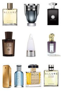 Konsantre Parfüm - Erkek Set - Chanel - P.Rabanne - Chanel - Amouage - P.Rabanne - Penhaligons - Acqua Di Parma - Hugo Boss - Roja - Rochas