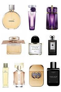 Konsantre Parfüm - Kadın Set - Chanel - Jo Malone - Lacoste - Byredo - Gucci - T.Mugler - Lancome - LMZ - Chloe - Hugo Boss