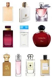 Konsantre Parfüm - Kadın Set - Trussardi - D&G - C.Dior - D&G - C.Dior - V.Cleef & Arpels - Lancome - Jo Malone - C.Christian - Chanel